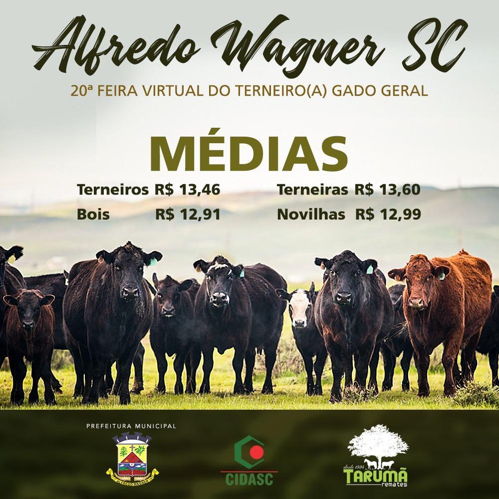 Feira do Gado em Alfredo Wagner negocia quase 470 animais durante o fim de semana