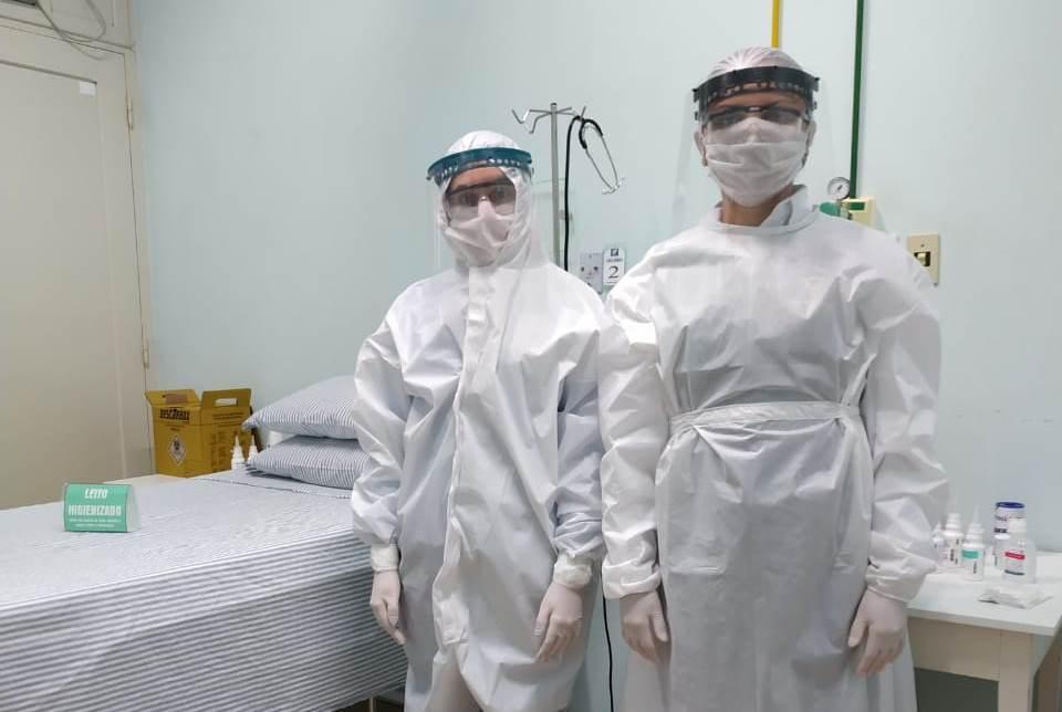 Hospital Bom Jesus amplia regras de higienização para evitar contaminação de funcionários